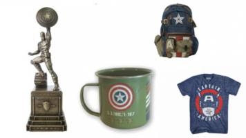 fly the ol' red, white and blue with this captain america gift guide