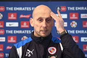 jaap stam gives an injury update on his reading squad ahead of bristol city match