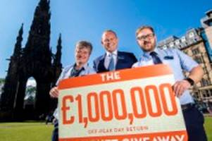 scotrail alliance are giving away £1 million worth of free tickets - here is how you can get your hands on some