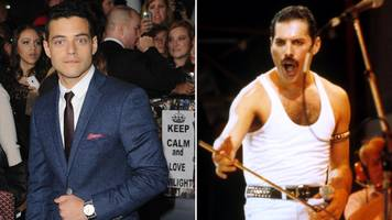rami malek: first look at mr robot star as freddie mercury in queen biopic