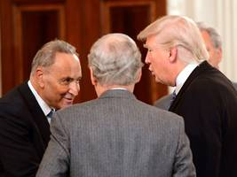 trump has a 'gentleman's agreement' with chuck schumer to get rid of the debt ceiling permanently