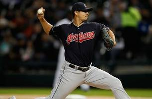 carrasco throws complete game as indians win 14th straight