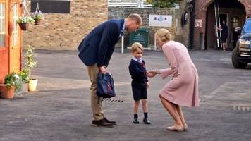 prince george is continuing this more recent royal tradition