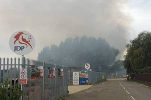 giant £200 million waste treatment plant could soon be coming to waterbeach site which caught fire last week
