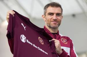 hearts ace aaron hughes set to become most capped british defender of all time - and andy kirk says he can be beating heart of jambos too