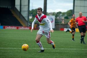 tom fry hopes to mastermind airdrie win over stranraer after summer trial at stair park