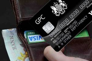 welsh government credit cards used for michelin-star dining, luxury hotels, chocolates and scarves