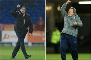 malky mackay's cardiff city title-winners versus neil warnock's table-toppers - how do the two teams compare?