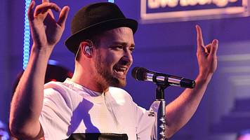 justin timberlake revealed as mystery foo fighters 'collaborator'