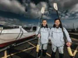 brothers are set to row the atlantic on a vegan diet