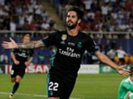 real madrid to announce new deal for isco