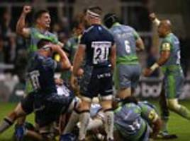 sale 12-13 newcastle: falcons leave it late to snatch win