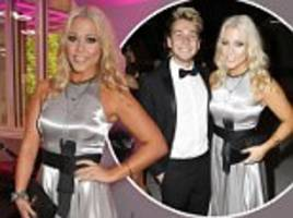 amelia lily reunites with sam thompson at london event