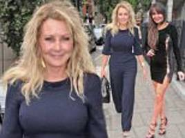 carol vorderman joins lizzie cundy at london book launch