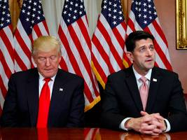 paul ryan responds to rumors he's mad about trump's grand deal with democrats