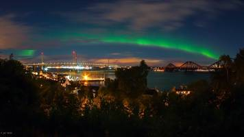in pictures: scotland's spectacular northern lights show