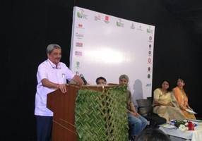 goa cm parrikar highlights need for skill development, environment-conscious energy use and innovation in technologies