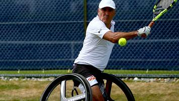 wheelchair tennis: stephane houdet wants paralympic sport to become olympic event