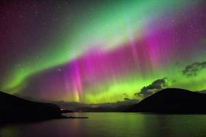 northern lights could be visible above derby tonight