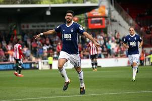 he's hit two worldies for nottingham forest - and one of andreas bouchalakis' strikes is up for goal of month