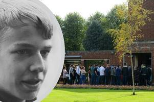 hundreds attend funeral of 'daredevil' grimsby town fan lewis sewell, 18