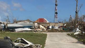 the first glimpse from the ground in barbuda
