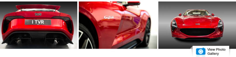 britain's tvr returns with new griffith sports car