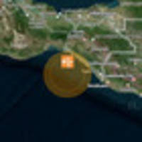Civil defence issues beach and marine tsunami warning after earthquake