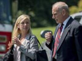 john kelly's no-nonsense no 2 has annoyed trump aides