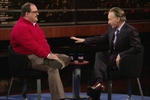 bill maher wants to convince ken bone he 'should have voted for hillary instead of godzilla' (video)