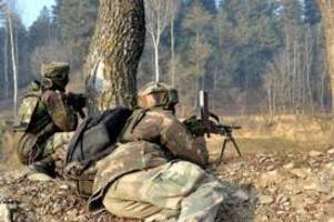terrorist killed in gun-fight with security forces in north kashmir