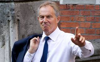 tony blair figure would be better pm than theresa may says major tory donor