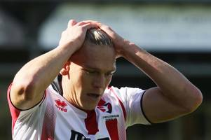 gary johnson backs cheltenham town striker after smashed dugout at yeovil town