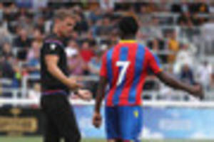 Crystal Palace boss indicates a willingness to change system as...