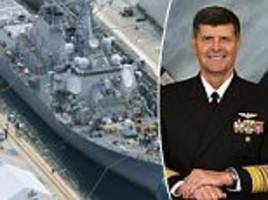 'we allowed standards to drop': us navy admits