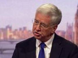 risk of war with north korea 'extremely great' - fallon