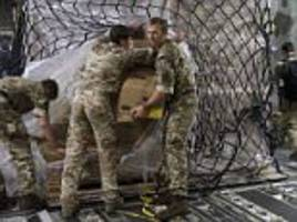 royal marines get to work in barbados in wake of irma