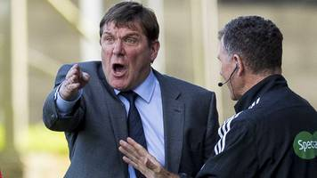 st johnstone: murray davidson withdrawal upsets tommy wright