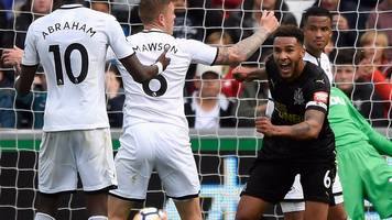 swansea 0-1 newcastle: 'jamaal lascelles managing captain's role well'
