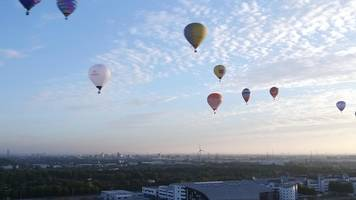 balloons take to london sky for lord mayor's appeal