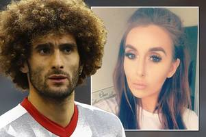 wayne rooney party girl laura simpson 'tried to woo ex-teammate marouane fellaini... before dropping a big mac into his pool'