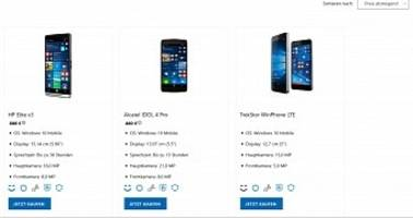 New Windows Phone Shows Up on Microsoft's Site