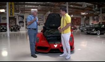 $3 million ferrari enzo scraped by jay leno during test drive