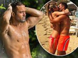spencer matthews shows off his muscular physique