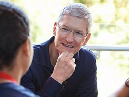 apple ceo tim cook: the iphone and ipad are 'not for the rich' (aapl)