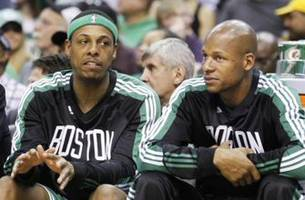 paul pierce wants to bury the hatchet with ray allen - kristine and colin react