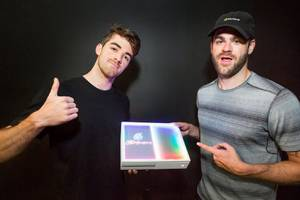 Microsoft's custom Chainsmokers Xbox One S is designed for your inner EDM bro