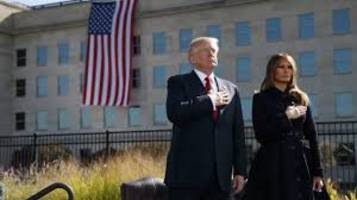 America cannot be intimidated, says President Trump on 9/11 anniversary