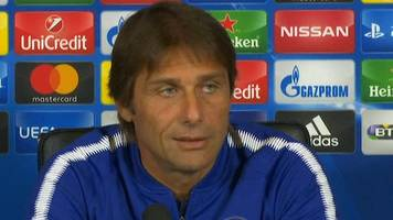 Chelsea boss Antonio Conte 'sorry' for Frank de Boer after Crystal Palace sacking