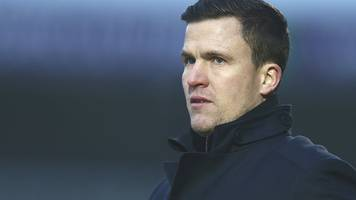 gary caldwell: chesterfield boss says he would be 'deluded' to expect fans' backing